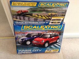 Scalextric Inner City Speed Track and Cars