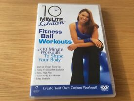 'Fitness ball workouts' fitness DVD