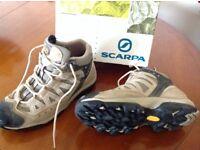 Walking Boots - Scarpa - size 38 - colour Chalk