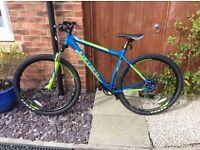 Carrera mountain bike £200