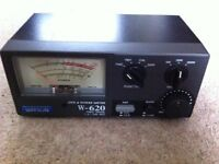 Watson W-620 SWR Meter 1.6 to 530mhz