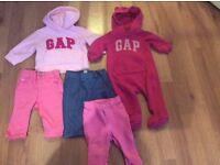 Gap 0-3 girls bundle