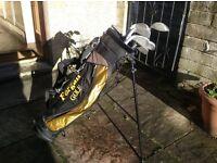 Young Gun junior golf clubs and bag