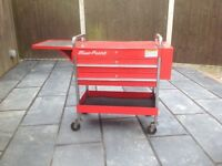 Snap on blue point service cart
