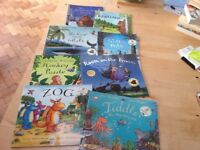 Children's books set of 8 Julia Donaldson - Gruffallo etc