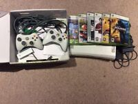 Good Xbox 360 With games.