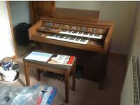 Yamaha FE 50 Electric Electone organ plus stool