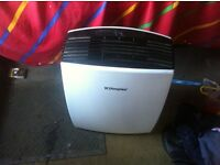 I have this de humidifier that has not been used much and I am selling to make more room on the boat