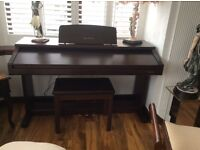 Technics digital piano+stool £500 very good condition can play on it own