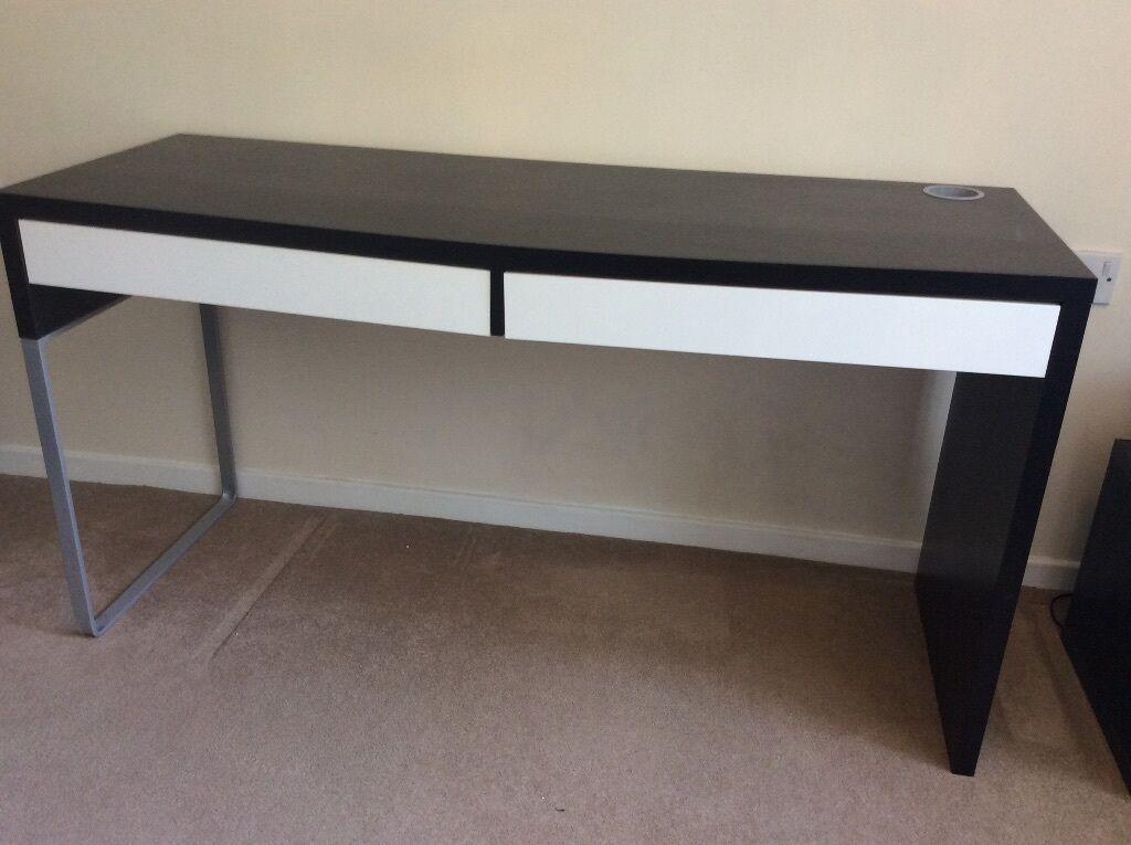 Ikea Micke Corner Desk White