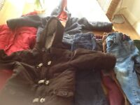 6 Large boxes boys clothes