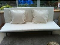 Ikea Sofa Bed - Brand New With Cream Seating