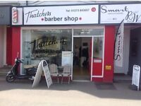 Barber required for Thatchers Barber Shop Hassocks - Earn £150 a day!