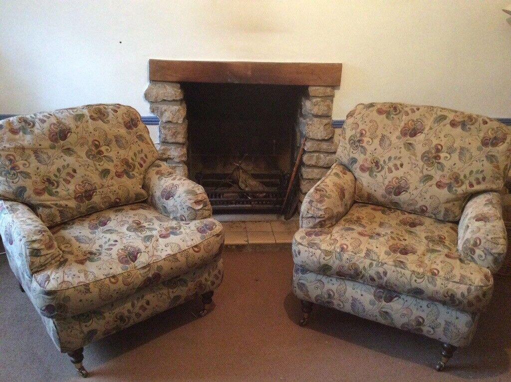 Wesley-Barrell armchairs