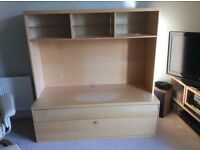 Ikea Beech Wall Unit - Free
