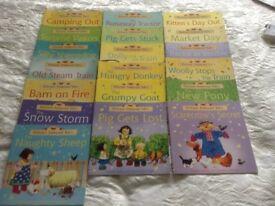 Usborne Farmyard Tales Books