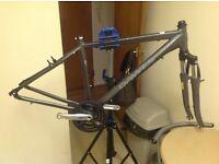 Dawes Kalahan Hibrid frame forks crank seat clamp £45ono