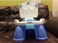 Fisher-Price royal step stool potty
