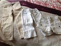 Girls Gap kids trousers /shorts 4/5 yrs