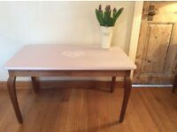 French, restored shabby chic coffee table