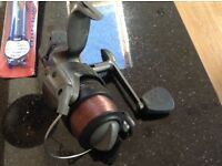 Browning matrix fishing reel. Line on ready to go, great item, could deliver locally