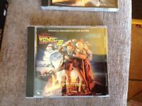 Back to the Future part 3 movie Soundtrack cd