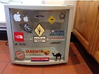 Beer fridge with mini freezer built in