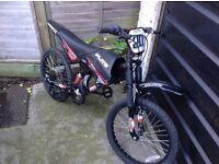 Boys Moto Flite Dual Suspension CYcle 6 sp (age 5-8