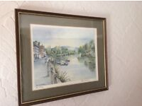 Limited edition picture: Bewdley, signed by local artist John Instance