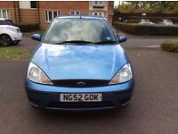 FORD FOCUS IN EXCELLENT CONDITION WITH LOW MIlEAGE, 59K MILEAGE AND LONG MOT TILL SEPTEMBER 2017