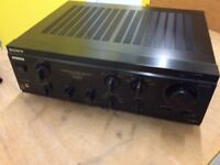 Sony TA-F530ES integrated amplifier.