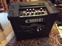 Roland cube 20 XL effects amplifier