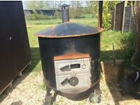 Large commercial grade wood fired clay oven