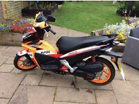 50cc Honda Repsol Moped