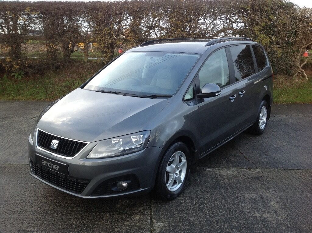 2012 SEAT ALHAMBRA 1.9TDI S ECOMOTIVE 5 SEATER **CHEAPEST IN N.I**