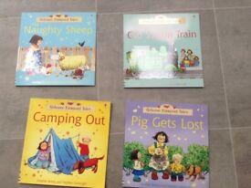 4 Farmyard tales books