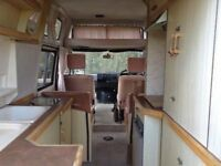 Campervan Renault Trafic Holdsworth Romance 1985 Low 72,000 miles 1700cc petrol so nice engine Purs