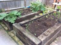 Wooden sleepers for sale