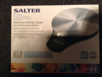 New Electronic Kitchen Scale by Salter