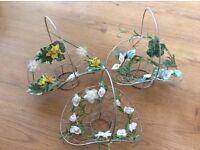 3 flower girl baskets
