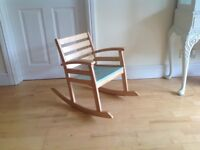 Small pine rocking chair 2 - 6 years