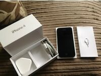 iPhone 4 16g Black. Locked to O2. Excellent condition. Boxed with key, charger and plug