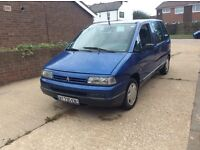 LEFT HAND DRIVE CITREON SYNERGIE 8 SEATER ON FRENCH NUMBER PLATES, 2.0 PETROL, EXCELLENT DRIVER AND