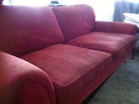 3 seater sofa and armchair free to collector