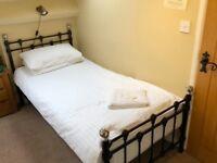 Black Metal Bed Frame- Single Bed