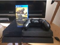 Sony PS4, Perfect Working Condition with Sharp HDTV, also Perfect Condition. Dark Souls 3 inc.