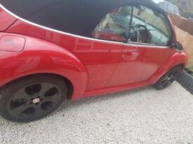 Beetle cabriolet 2.0 petrol