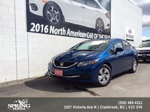 2015 Honda Civic LX $128 Bi-Weekly