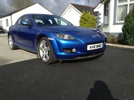 Mazda rx8 192 with apex rotary rebuilt engine with copy invoice