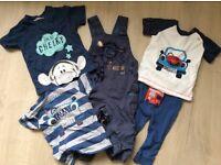 Baby boys clothes bundle 9 - 12 months
